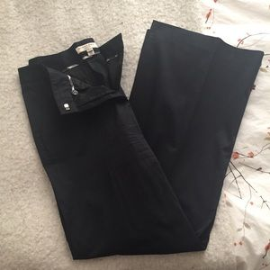 Burberry Black Wide Leg Trouser 8